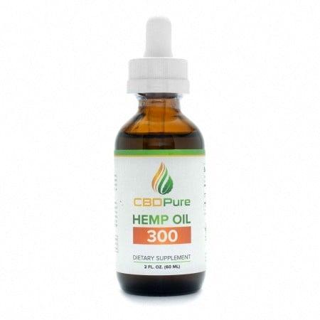 CBDPure CBD Oil bottle