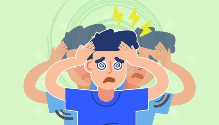 Illustration of a Person Having Seizures