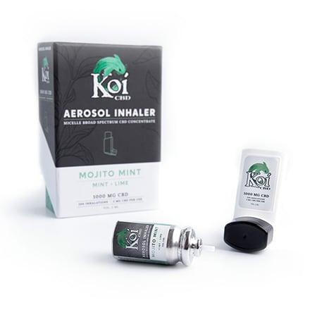 Koi cbd inhaler on white background