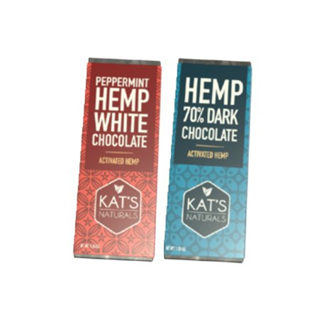 kats naturals edibles on white background